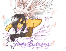 Happy birthday Ashley by EmoFox721