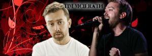 Tim McIlrath facebook cover by EchelonMars14