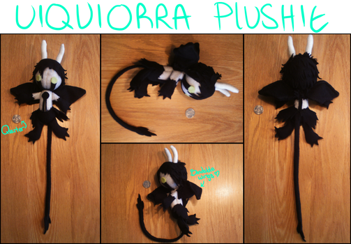 Ulquiorra Plushie by charmycat