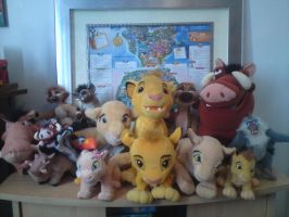 Lion King plush collection by lyndzeepie