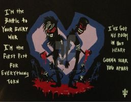 BOTDF Death To Your Heart Painting by bewitchedgirl