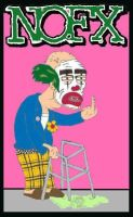 Nofx Cokie the old clown by Norwood83