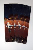 Leon - Squall bookmark by knil-maloon