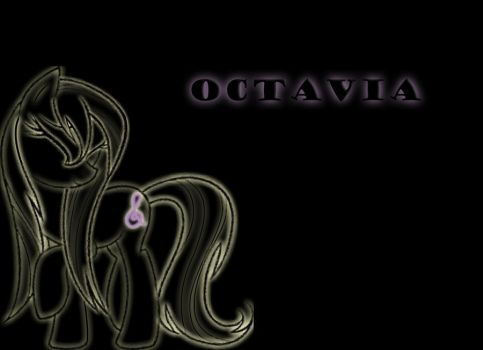 Octavia wet mane Background by demondave999
