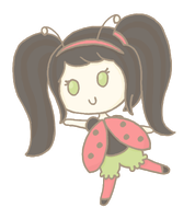 OC Adoptable 2: Ladybug Girl [closed] by Cupcake-Kitty-chan