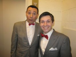 Pee-wee and Pee-wee by MadDeppBurtonHatter