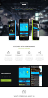 Tapptastic App WordPress Theme by sandracz