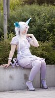 Espeon cosplay by ankin
