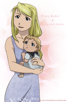 Lovely mom by NoVaNoah