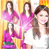 Selena Gomez Blend by KaarenEditions
