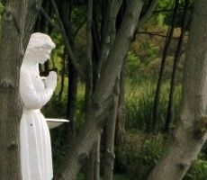 Maiden Angel Praying in Forest by SweetSoulSister