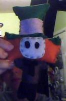 Mad Hatter Plushie by justjuli11