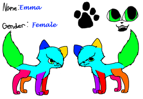 Emma Ref by ToxicSkullie027