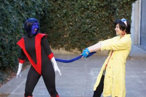 Stop pulling my tail!!!! by RaindropCosplay
