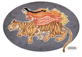 The Flying Tiger by LaTaupinette