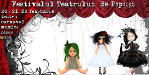 puppets festival flyer by monab10