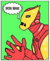 Classic Iron Man by Hartter