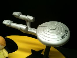 Star Trek Cake close up 2 by Spudnuts