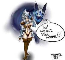League of Legends - Kindred Humanized by SunnySlash