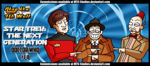 Star Trek- The Next Generation  Doctor Who  #1-8 by MTC-Studio