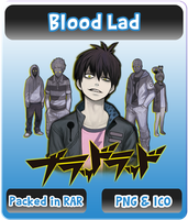 Blood Lad - Anime Icon by Rizmannf