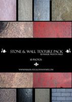 stone and wall texture pack by W-F-Stock