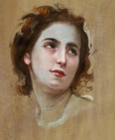 Study of bouguereau by Derlaine8