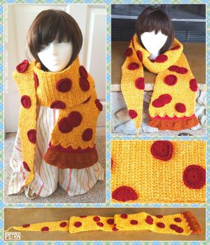 Pizza Scarf by Petra0