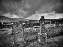 Cemetery in Scotland by AndyLaRoque