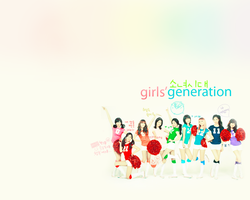 SNSD Wallpaper 1 by tifflebear