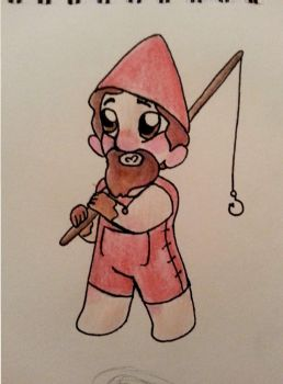 Gnome - Traditional Art (With matching Crafts!) by AmazingAceArmy