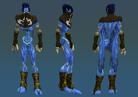 New Raziel Skin for Legacy of Kain: Defiance by TheHylden