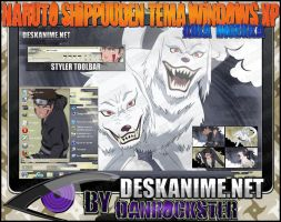 Kiba Inuzuka Theme Windows XP by Danrockster