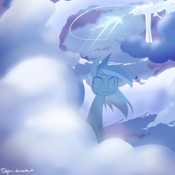 Cloudy 2 by Slypon