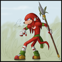 Knuckles Booghs by BUGHS-22