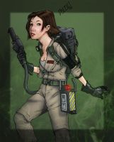Ghostbuster Babe by Petarsaur