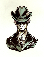 Batman: The Riddler by ClockworkMurderscene