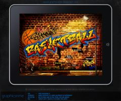 Basketball UI ipad by graphicsnme