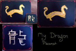 Dragon Placemat Set by StormyBabe