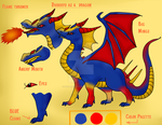 CE:  Darkkyo the dragon by Skylar-Wolf