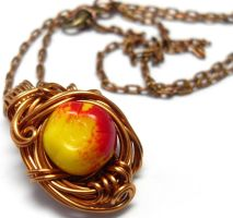 Apple Nest Necklace by sojourncuriosities
