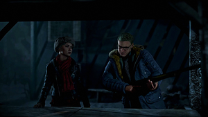Until Dawn - Chris and Sam - I Do Deserve A Kiss! by Drive637