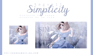 Tagwall ''Simplicity'' by Yui-chanKawaii