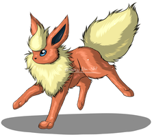 Flareon by Freaky--Like--Vivi