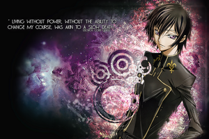 LeLouch, Code Geass by TheArtViper