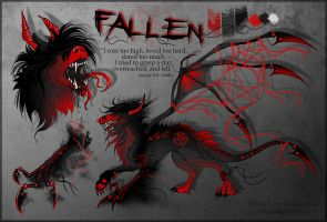 Fallen. Reference by Alaiaorax