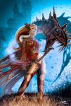 ARTEMIS-GODDESS OF THE HUNT by isikol