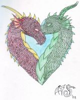 Dragon Heart by FlameShuken
