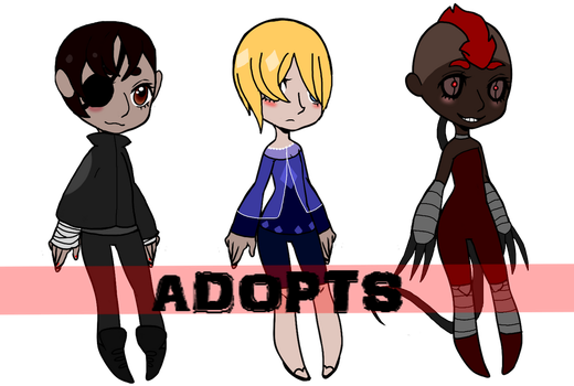 Adopt spree 1 MIDDLE ONE OPEN by Qui--vive