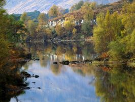 Affric reflections by piglet365